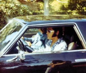 Elvis driving 2