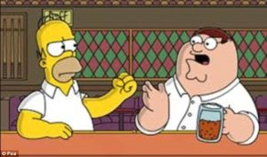 homer and family guy