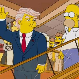 trump and homer