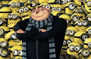 Mr. Gru and minions
