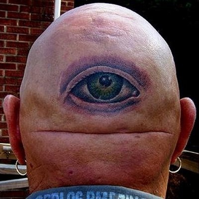 bald eye